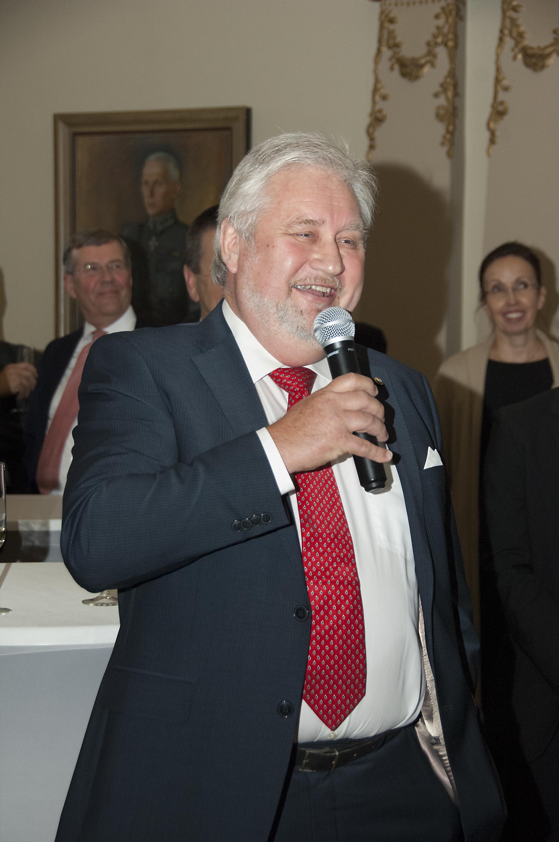 Juha Tulimaa osallistui Finnpilotin järjjestämään luotsauksen 320-vuotisjuhlaan syksyllä 2016.