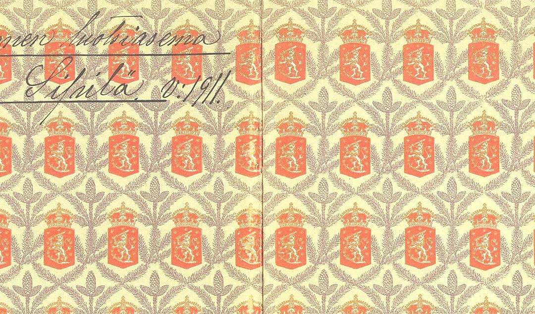 Luotsin käsikirja vuodelta 1905